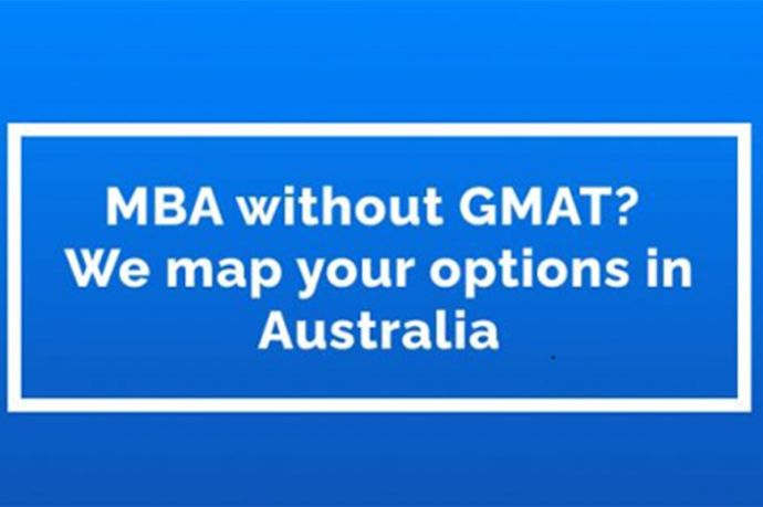Mba Without Gmat? – We Map Your Options In Australia
