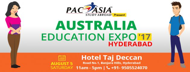 Australia Education Expo Hyderabad August 2017
